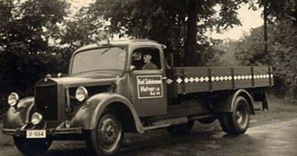 Mercedes Benz Lo 2500 1937 Lkw Oldtimer Sattelzug