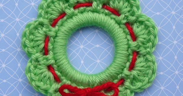 Crochet Christmas Reef Craft Ornament