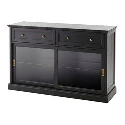 Malsjo Sideboard Black Stained 57 1 8x36 1 4 Con Immagini