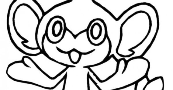 pokemon pansage coloring pages - photo #23