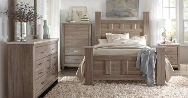 Art Van 6-piece Queen Bedroom Set