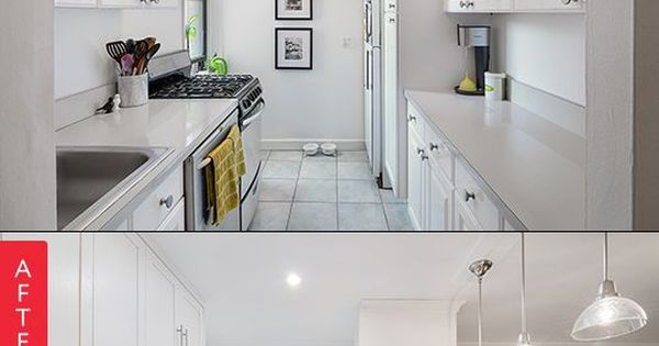 Galley Kitchen Before And After: Before & After: A NYC Galley Kitchen Opens Up