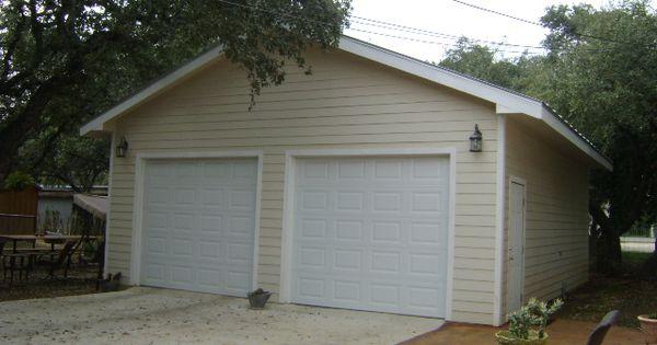 30x35 foot free standing 2 car garage decks and patio On free standing garage