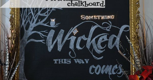 Halloween Mantels Link Party 2012 - Home Stories A to Z
