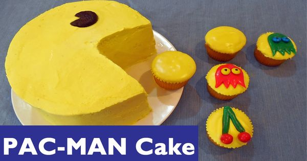 How To Make A Pac Man Cake And Pacman Cupcakes Create