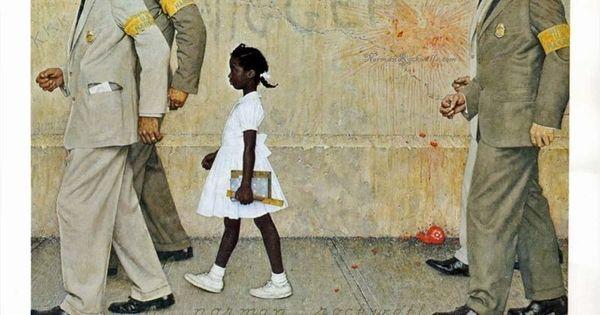 1960 S School Segregation Civil Rights Ruby Bridges