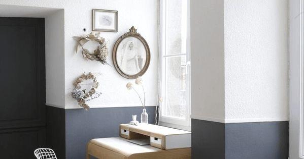 Tendance peindre ses murs moiti pi ces de monnaie for Peindre mur platre ancien