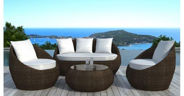 Salon De Jardin En R Sine Tress E Ronde Malaga Garden Furniture Pinterest Rattan Sofa
