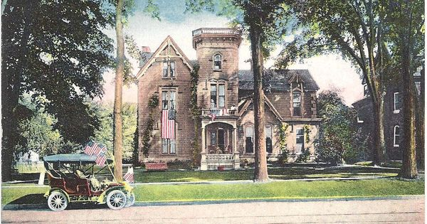 Residence of James Sherman, Utica NY | Oneida County, New York | Pinterest