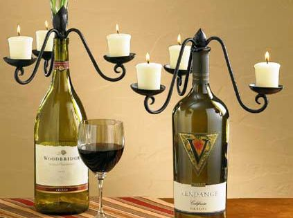 What to do with your empty wine bottles well of course for What can i make with empty wine bottles