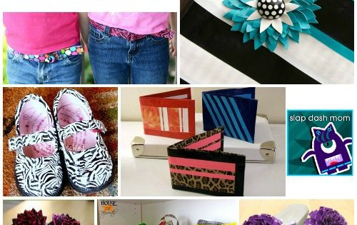 DIY Crafts | 40 DIY Duct Tape Craft Tutorials