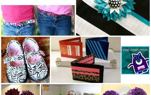 DIY Crafts | 40 DIY Duct Tape Craft Tutorials