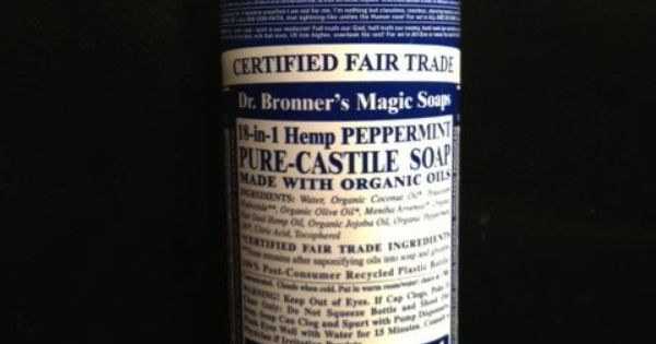 dr bronner 39 s pure castile soap 18 in 1 uses this stuff is amazing my add this was the pre. Black Bedroom Furniture Sets. Home Design Ideas