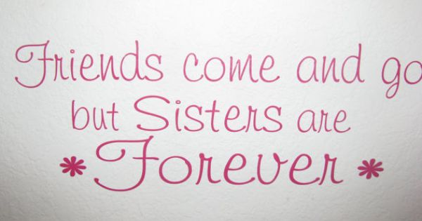 """Wood White Top Quality Gift Sister Photo Frame /""""Sisters Are Forever Friends/"""""""