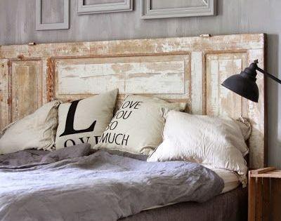 25 id es d co pour une t te de lit originale muebles for Tete de lit personnalisee