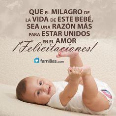 Felicitaciones En El Nuevo Bebé Bienvenido Bebe Frases