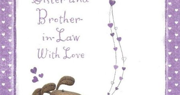 Wedding Gifts For Sister And Brother In Law: Anniversary+wishes+to+sister
