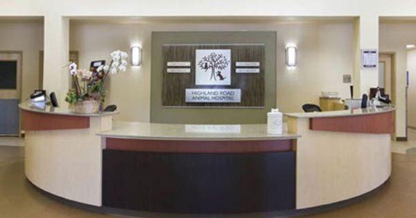 Hrah Reception Desk Animal Hospital Veterinarian Reception Desk