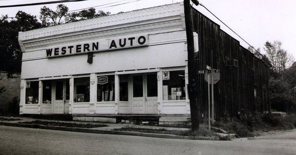 western auto store back in the day springville al rewound pinterest autos westerns and. Black Bedroom Furniture Sets. Home Design Ideas