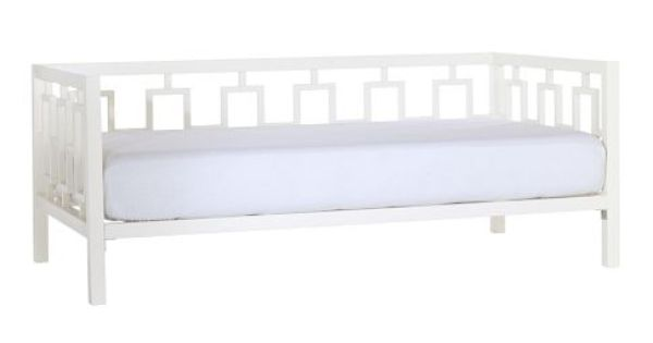Window Daybed White Lacquer From West Elm Screened
