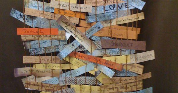 Prayer Loom Weaving Wall For Godsightings Teach Me To