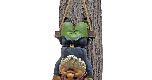 Garden Gnome Statue Statuary Lawn Yard Art Ornament Home