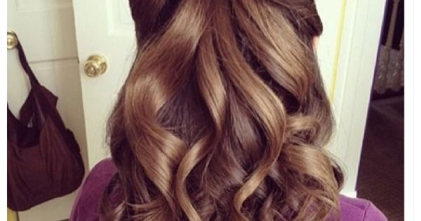 Brown Curly Hair With Bow Made By Hair Real Cool Style