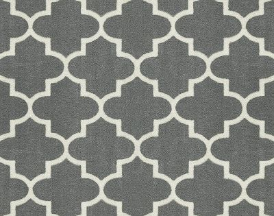 2 6 X3 10 30 X46 Fretwork Design Woven Accent Rug Gray