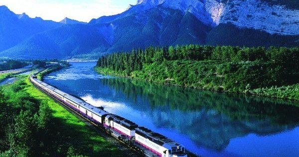 Rocky Mountaineer Railtours, Train Travel, Canadian Rockies.