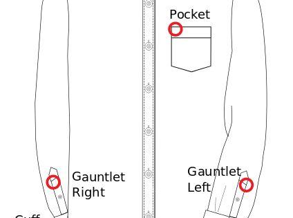 File dress shirt monogram embroidery for Dress shirt monogram placement