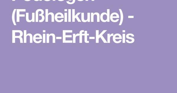 Podologen Fussheilkunde Rhein Erft Kreis Gesundheit Medizinische Versorgung Rheine