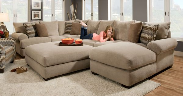 Deep Seated Sectional Couches