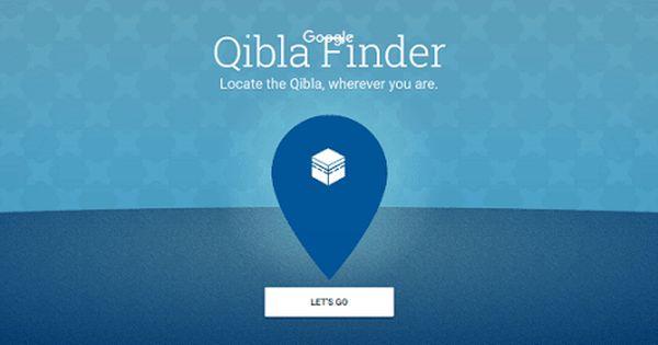 أداة جوجل الجديدة لتحديد اتجاه القبلة Qibla Finder Letting Go Let It Be Finder