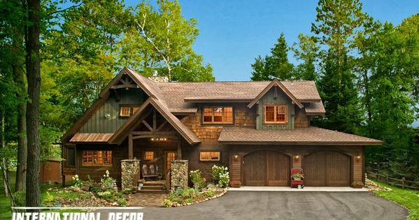 Rustic farmhouse decor exterior farmhouse in the woods with a rustic interior all things - Rustic home exteriors ...