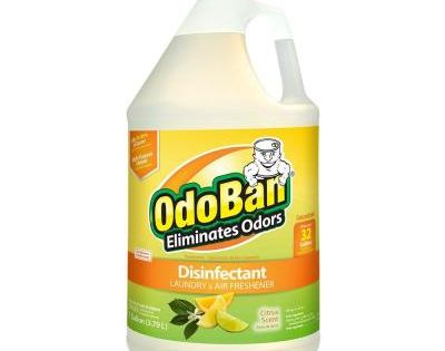 Odoban 1 Gal Citrus Disinfectant Laundry And Air Freshener Mold And Mildew Control Multi Purpose Concentrate 911661 G The Home Depot Odor Eliminator Citrus Scent Multipurpose Cleaner