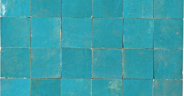 Mosaique Mur Zellige Lazuli 5 X 5 Cm Zellige Mosaique Parquet Sol