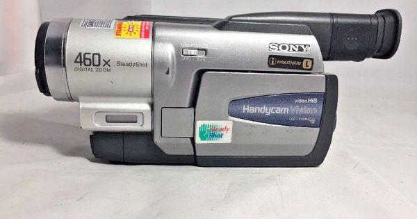 Sony Hi8 Video8 8mm Ccd Trv68 Handycam Video Camcorder Player Camcorder Sony Video Camera