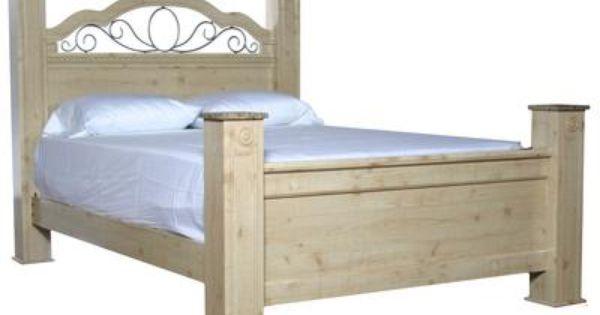 Best Badcock Seville King Poster Bed Bedroom Furniture And 400 x 300