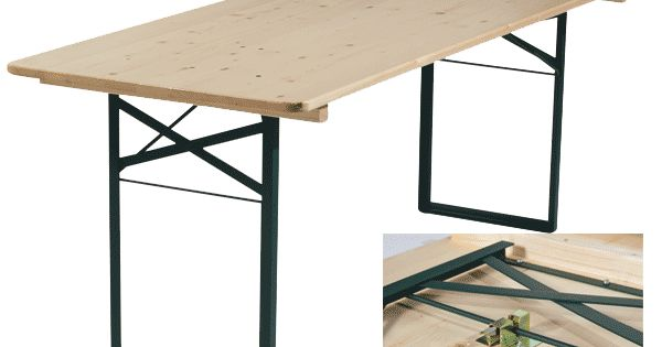 Table pliante plateau bois pe 1012 pinterest for Table pliante exterieur professionnel