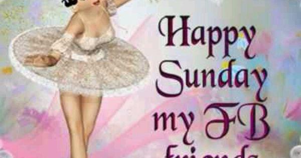 Happy Sunday FB Friends!