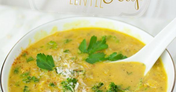 Creamy Spiced Coconut Lentil Soup | Lentils and Lentil ...