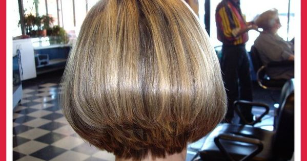 Short Stacked Hairstyles For Women Over 50 Short Stacked Bob Hairstyle With Bangs Girlie