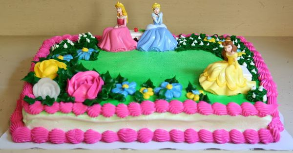 A Princess Celebration Cake And Celebrations