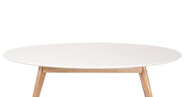 Table basse design scandinave ovale skoll salon pinterest tables basses - Tables basses ovales ...