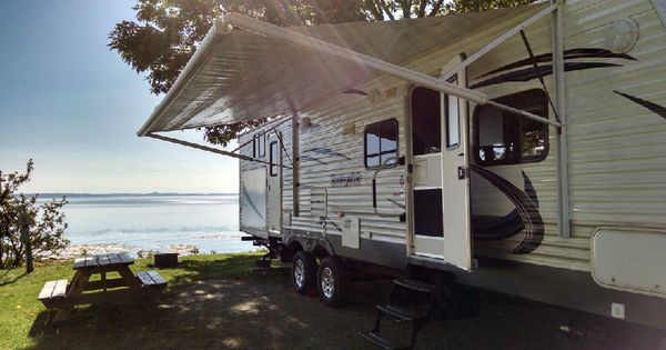 Maine Family Campgrounds Oceanside Beach Camping Amp Cabin