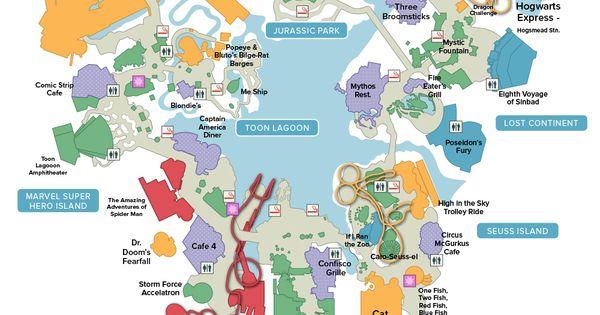 universal studios orlando islands of adventure map pdf