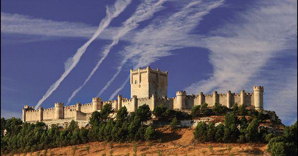 Castillo De Pe Afiel Valladolid Castillos Espa A Y Medieval