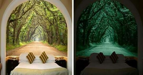 Glow In The Dark Mural Dream House In Virtual