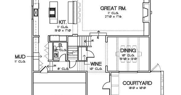 Modern plan by david cox great floor plans pinterest for Cox plans