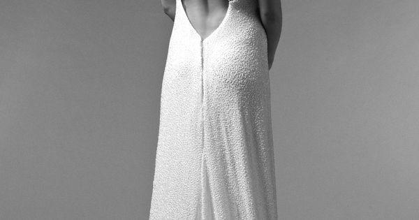 2015 de Meryl Suissa - Robe de mariée près du corps dos nu ...